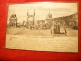 Ilustrata Clasica Budapesta - Podul Fr.Josef 1903 ,stamp. goarna 151