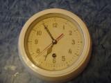 VOSTOK - ceas de perete rusesc / marina militara sovietica ( armata , colectie )