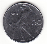 Italia 50 lire 1983, Europa
