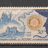 Franta.1955 50 ani Rotary International SF.276 - Timbre straine