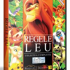 Regele Leu 1, 2, 3 ( Lion King 1. 2, 3 ) DVD aminatii limba romana - Film animatie