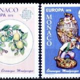 Monaco 1976 - cat.nr.1062-3 neuzat, perfecta stare - Timbre straine