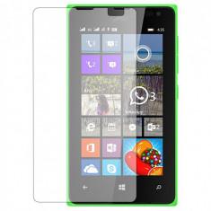 Folie Microsoft Lumia 532 435 Nokia Transparenta - Folie de protectie Nokia, Lucioasa