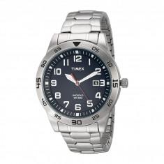 Ceas Timex Stainless Steel Expansion Band Watch   100% originali, import SUA, 10 zile lucratoare - Ceas barbatesc Timex, Otel