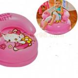 Fotoliu/Scaun gonflabil pentru copii cu Hello Kitty, Intex