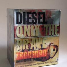 DIESEL ONLY THE BRAVE IRON MAN-eau de toilette, 75ml.-replica calitatea A++ - Parfum barbati Diesel, Apa de toaleta