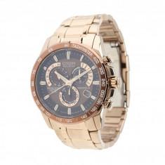 Ceas Citizen Watches AT4106-52X Eco-Drive Perpetual Chrono A-T Atomic Clock Synchronization Watch | 100% originali, import SUA, 10 zile lucratoare - Ceas barbatesc