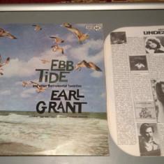 EARL GRANT (organist celebru) - EBB TIDE (1974 /MCA REC/ ITALY ) - VINIL/VINYL - Muzica Rock universal records