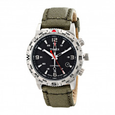 Ceas Timex Intelligent Quartz Adventure Series Compass Nylon Canvas Strap Watch   100% originali, import SUA, 10 zile lucratoare - Ceas barbatesc