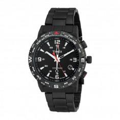 Ceas Timex Intelligent Quartz Adventure Series Compass Stainless Steel Bracelet Watch   100% originali, import SUA, 10 zile lucratoare - Ceas barbatesc Timex, Otel