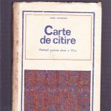 CARTE DE CITIRE -MANUAL PENTRU CLASA A- 6 -A - Carte educativa