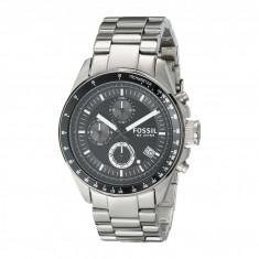 Ceas Fossil CH2600 Decker Chronograph Stainless Steel Watch | 100% originali, import SUA, 10 zile lucratoare - Ceas barbatesc Fossil, Otel