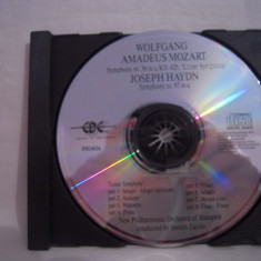 Vand cd audio Joseph Haydn& Mozart, original, raritate-fara coperta! - Muzica Pop Altele
