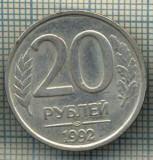 5548 MONEDA - RUSIA - 20 ROUBLES -ANUL 1992 -starea care se vede