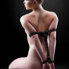 10m Sfoara Neagra Bondage - BDSM