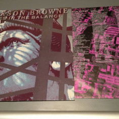 JACKSON BROWNE - LIVE IN THE BALANCE(1986/ ELEKTRA REC/ RFG ) - VINIL/ POP/VINYL - Muzica Rock universal records