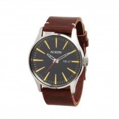 Ceas Nixon The Sentry Leather - The Luxe Heritage Collection | 100% originali, import SUA, 10 zile lucratoare - Ceas barbatesc