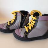 Adidas copii din piele naturala - Ghete copii, Marime: 22, Culoare: Mov