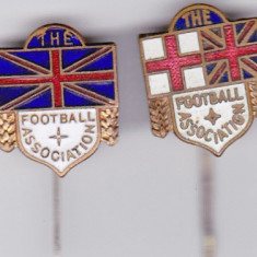 Lot 2 Insigne vechi - Federatia de Fotbal din Anglia - Insigna fotbal
