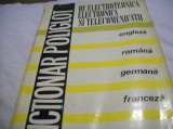 dictionar poliglot de electrotehnica, electronica si telecom. 1972