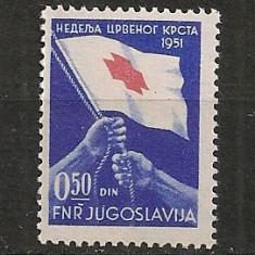 Iugoslavia.1951 Crucea Rosie SI.820 - Timbre straine