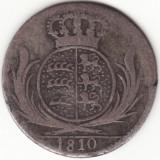 Regatul Wuttemberg - 6 Kreuzer 1810 - Argint