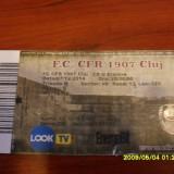 Bilet       CFR  Cluj  -  CS U  Craiova  7 12 2014