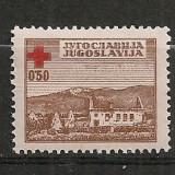 Iugoslavia.1947 Crucea Rosie SI.816