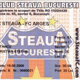 Bilet meci fotbal STEAUA BUCURESTI - FC ARGES 16.08.2008
