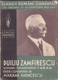 DUILIU ZAMFIRESCU - ANNA ( 1938 ) ( EDITIE COMENTATA DE MARIANA PARINCESCU )