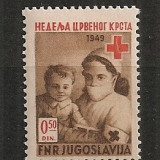 Iugoslavia.1949 Crucea Rosie SI.818