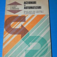 ACTIONARI SI AUTOMATIZARI - MANUAL PENTRU LICEE CLASA A XII-A BOTAN - Carti Automatica