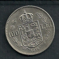 ROMANIA 100 LEI 1936 VF+ [7] Livrare in cartonas - Moneda Romania, Nichel