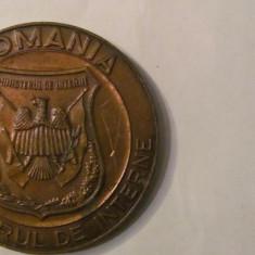 """MMM - Medalie Romania """"Ministerul de Interne / Casa de Cultura 1949-1994"""" bronz"""