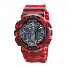 Ceas Casio G-Shock GA100CM-4A | 100% original, import SUA, 10 zile lucratoare - Ceas barbatesc