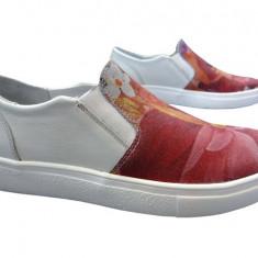 Pantofi sport dama piele naturala Bit-1654 roz - Adidasi dama Bit Bontimes, Marime: 37