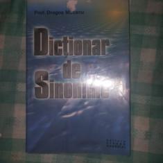 Dictionar de sinonime Mocanu D - Dictionar sinonime