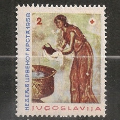 Iugoslavia.1958 Crucea Rosie SI.830 - Timbre straine