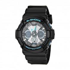Ceas Casio G-Shock Blue Accent GA201 | 100% original, import SUA, 10 zile lucratoare - Ceas barbatesc