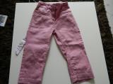 Pantaloni, blugi fetite, 3-4 ani, 92-104 cm, cu talie inalta, moderni, tip pana, 30, Fete