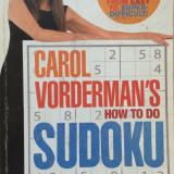 HOW TO DO SUDOKU - Carol Vorderman