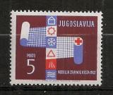 Iugoslavia.1962 Porto-Crucea Rosie  SI.886