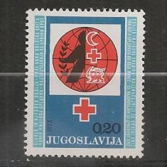 Iugoslavia.1973 Crucea Rosie SI.854 - Timbre straine