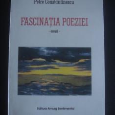 PETRE CONSTANTINESCU - FASCINATIA POEZIEI * ESEURI - Studiu literar
