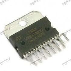Circuit integrat L298N driver dual punte, completa MULTIWATT15 - 002503