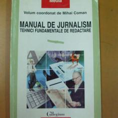 M. Coman Manual de jurnalism Iasi 1997