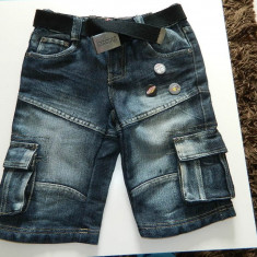 Pantaloni, pantalonasi pentru copii, marimea 80 cm, 1-3 ani, Culoare: Albastru, Baieti