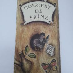 CONCERT DE PRÎNZ, CARTE MUZICALĂ PENTRU COPII - Carte poezie copii