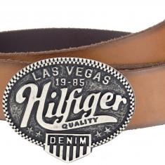 Curea originala Tommy Hilfiger model Denim Las Vegas - Curea Barbati Diesel, Marime: 115cm, Culoare: Din imagine