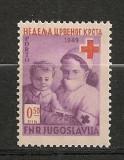 Iugoslavia.1949 Porto-Crucea Rosie  SI.877